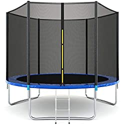 Giantex 10Ft Outdoor Trampoline for Kids and Adults