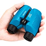 occer 8x22 Binoculars for Kids Fixed Focus Real Optics, Best Gifts for Boys