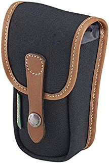 Billingham Avea 3 Pouch - Black Canvas with Tan Leather Trim