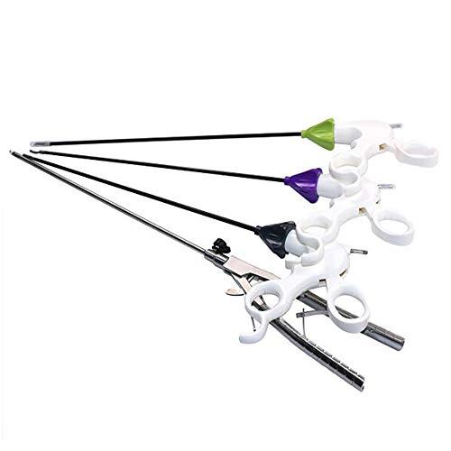 GEQWE 4 Teile Laparoskopische Trennzange Simulation Laparoskopischer Nadelhalter Medizin Training Pädagogisches Werkzeug Ausrüstung Für Die Schülerausbildung