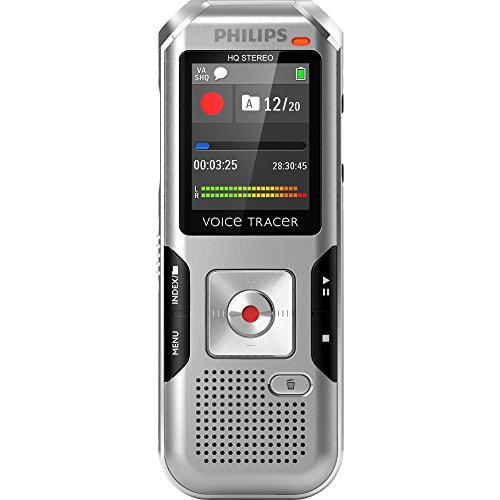 Why Choose Philips Voice Tracer DVT4000/00 Digital Voice Recorder, Silver