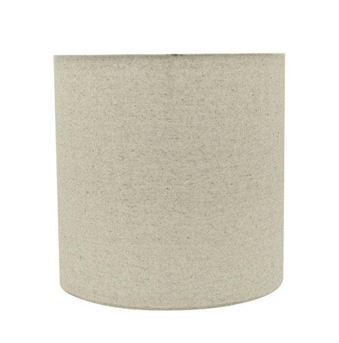 Aspen Creative 31226 Transitional Drum (Cylinder) Shaped Construction Light Grey, 8