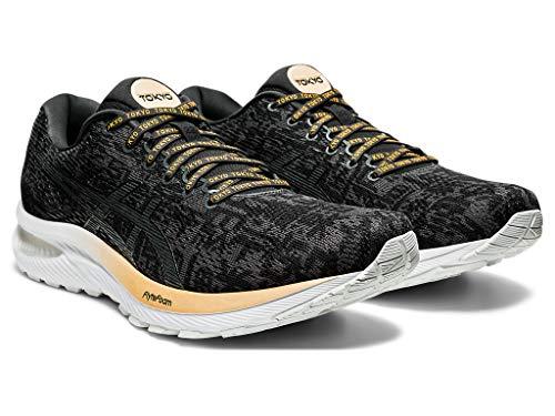 Preisvergleich Produktbild ASICS Men's Gel-Cumulus 22 Running Shoes,  11.5M,  Black / Graphite Grey