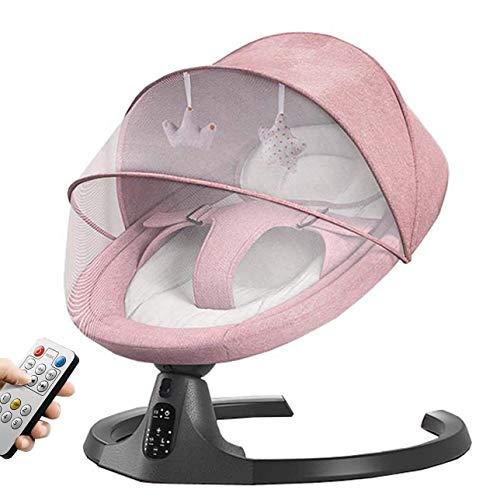 Silla eléctrica del Baby Baby, balancín eléctrico de bebé con 5 amplitudes...