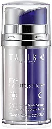 Talika Eye Quintessence Tratamiento Doble: Crema de Día y Sérum de Noche - 2 x 20 ml, Total: 40 ml