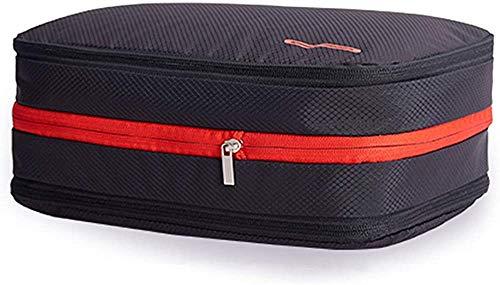 [Amazonブランド] Umi. (ウミ)圧縮バッグ 大容量 防水 軽量 超便利 乾湿分離 収納バッグ 旅行 圧縮グッズ 衣類圧縮バッグ 簡単圧縮 持ち運び便利