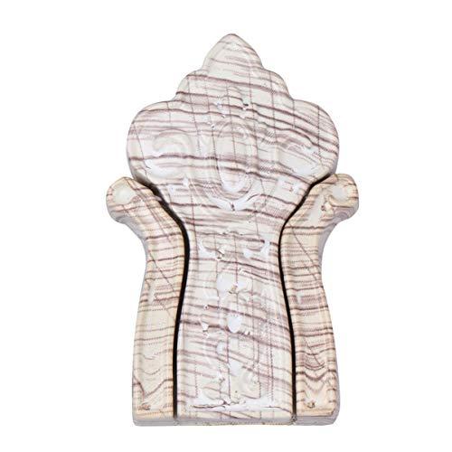 TOYANDONA Mur Monté Crochets à Manteau Pliable Vintage Bois Cintre Porte-Clés Support de Stockage Rack Décor à La Maison pour Serviette Écharpe Robe Chapeau Cadre Photo