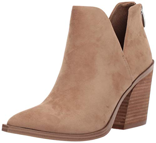 Steve Madden Women's Alyse Fashion Boot, Tan Suede, 9.5 M US