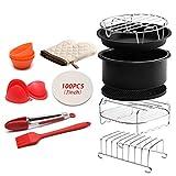 Aisumi - Juego de 12 utensilios para hornear pizza y barbacoa, para cocinar al vapor, cocción, pinzas de silicona