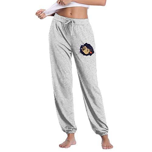 QIAOJIE Pantalon Sloth Art Joggers Pants for Womens Athletic
