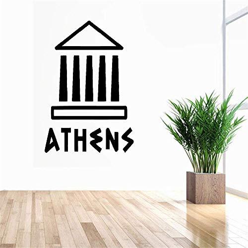 pegatinas de pared harry potter Atenas, Acrópolis, Partenón, lugares de interés de la antigua Grecia para el dormitorio de la sala de estar