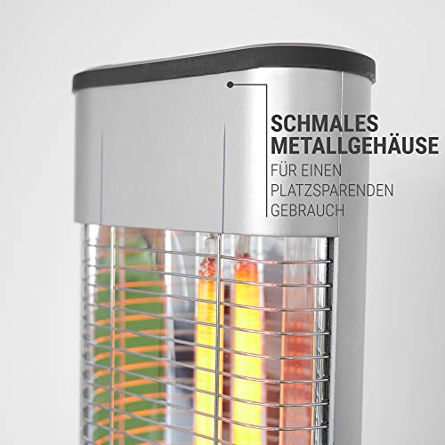 Heizstrahler Infrarot Stand-Heizstrahler Bild 3*