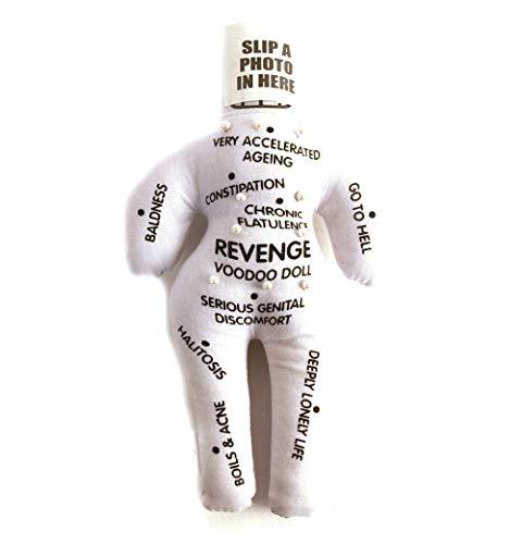 Diabolical gifts DP0494 Revenge Voodoo Puppe Witz Neuheit Geschenk