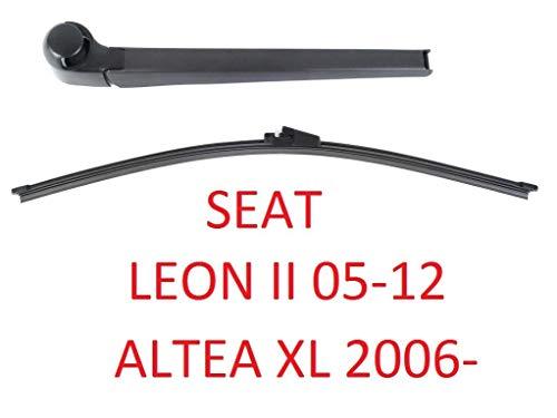 AERO Heck-Scheibenwischer Arm Set SEAT Leon II 2 mk2 04-12 Altea XL 06-