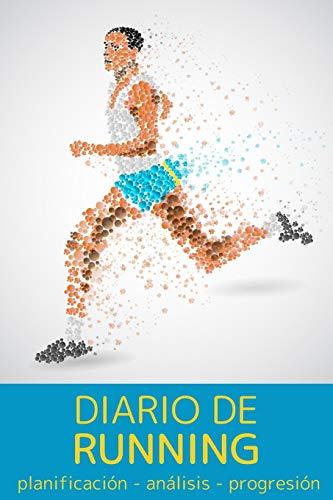 Diario de running: Cuaderno de entrenamiento   Objetivos, distancia, tiempo, ruta, frecuencia cardíaca, etc...   Formato 16 cm x 23 cm , de 110 ... profesionales como para principiantes