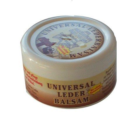 2x Lederbalsam Universal, 250ml mit echtem Bienenwachs, reinigt und pflegt Lederbekleidung, Schuhe und Möbel
