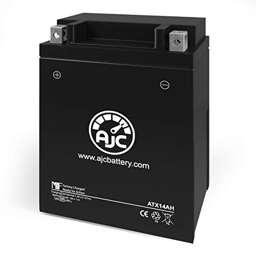 Arctic Cat 400 4x4 Auto TRVPlus 400CC ATV Replacement Battery (2007) - This is an AJC Brand Replacement