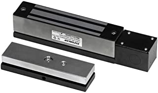 Seco-Larm Enforcer Electromagnetic Gate Lock, 600 Lbs. with Weldable Bracket (E-942FC-600SQ)