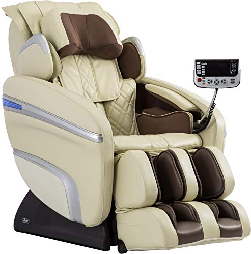 OSAKI OS-7200H Pinnacle FDA Zero Gravity Computer Body Scan 51 Air Bag Massage Hip Massage Auto Leg Scan Best Massage Chair (Cream)