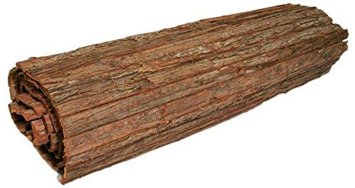 Pflanzenfuchs® Sichtschutz - Rinde Baumrindenmatte Rindenmatte Winschutz Natur 100cm x 300cm