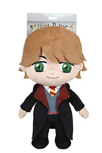 HARRY POTTER - Peluche 11'81''/30cm Ron Weasley Ministerio de Magia, el Mejor Amigo de Harry con Blister Calidad Super Soft