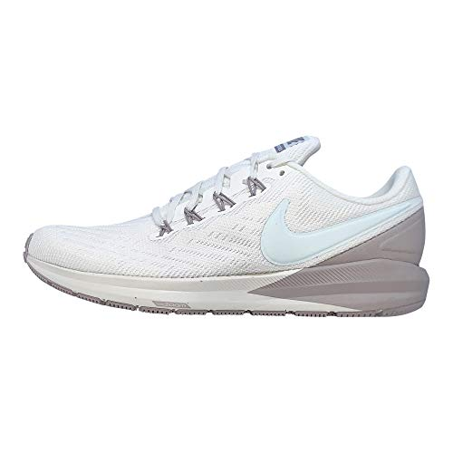 Nike Women's Air Zoom Structure 22 Running Shoe (10, Sail/Teal Tint/Moon Particle)