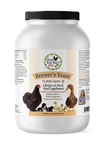 Fresh Eggs Daily Brewer's Yeast with Garlic Powder Chicken & Duck Feed Supplement 5LB