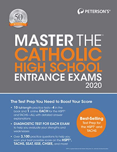Master the Catholic High School Entrance Exams 2020
