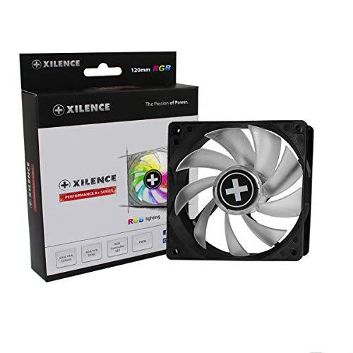 Xilence Performance A+ Serie | Gehäuselüfter | XF061  | PWM | RGB Controller Set |  120 mm | transparent/schwarz