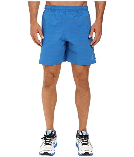 ASICS Mens Lite Show 7 Shorts Imperial Blue XX Large