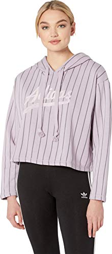 adidas Originals Women's Cropped Hoodie Soft Vision Small