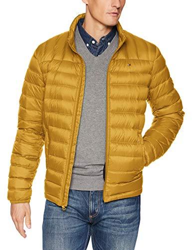 Tommy Hilfiger Herren Packable Down Jacket Jacke, Death Valley, XL