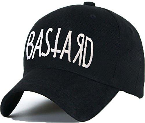 Bonnet Casquette Snapback Baseball 1994 Hip-Hop en Noir / Blanc avec les ASAP Bad Hair Day