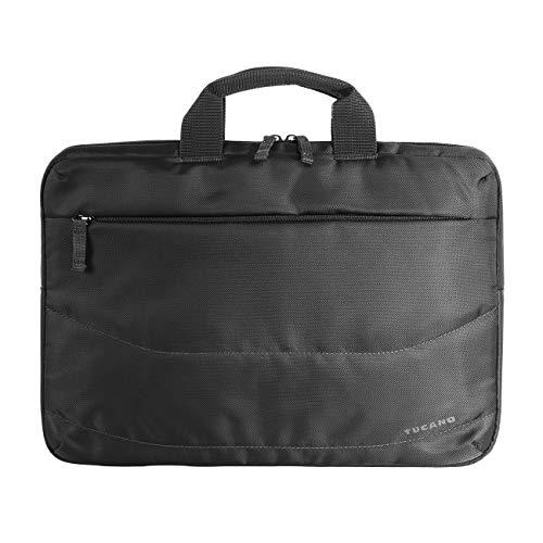 Tucano - Borsa PC Slim per Laptop Fino a 15.6', Compatibile con MacBook 16', Imbottita e Protettiva, Ideale per Ufficio, università, Viaggio, da Uomo e da Donna