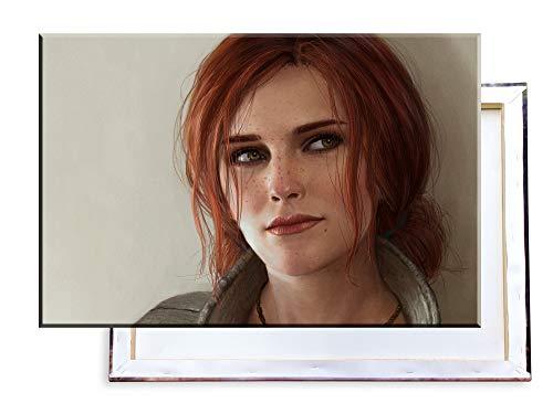 Unified Distribution Witcher - Triss Merigold - 120x80 cm Kunstdruck auf Leinwand • erstklassige Druckqualität • Dekoration • Wandbild