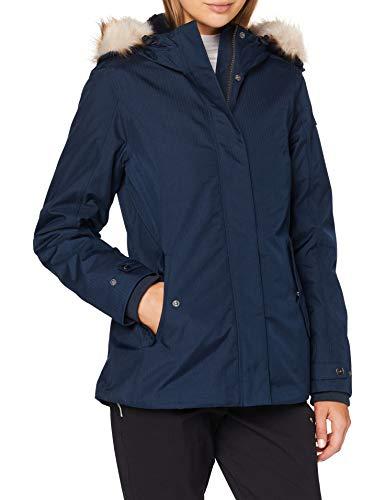 CMP Parka mit 3 m Wattierung Thinsulate Featherless Jacke für Damen XXXXL Schwarz Blau