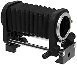 Fotodiox macro bellows for Nikon Cameras, Nikon D1, D1H, D1X, D2H, D2X, D2Hs, D2Xs, D3, D3X, D3s, D4, D100, D200, D300, D300S, D700, D800, D800E, D40, D50, D60, D70, D70S, D80, D40X, D90, D3000, D3100, D3200, D5000, D5100, D7000, Fuji S1, S2, S3, S5