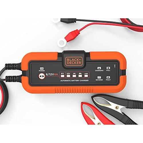 BLACK+DECKER Chargeur de Batterie Intelligent &...