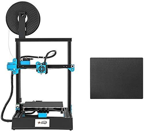 Stampante 3D ad Alta precisione 3,8 Pollici Touchscreen Autoassemblare Fai da Te 220 x 220 x 270mm Max.Dimensioni della Stampa con Funzione di Stampa di ripresa per la casa/Scuola Accessori per Arti