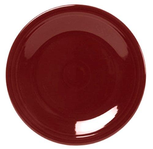 Fiesta 10.5-in. Dinner Plate, Cinnabar