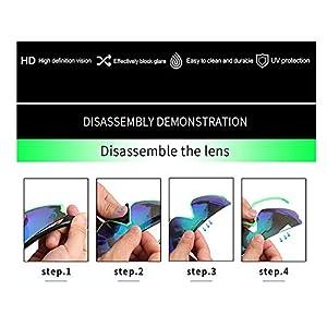 sunglasses restorer Gafas de Ciclismo Espejadas para Hombre y Mujer, Ligeras y Resistentes. Lente Fotocromática y Polarizada Extra.
