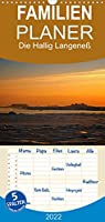 Die Hallig Langeness - Familienplaner hoch (Wandkalender 2022 , 21 cm x 45 cm, hoch): Einzigartige Fotos der Hallig Langeness (Monatskalender, 14 Seiten )