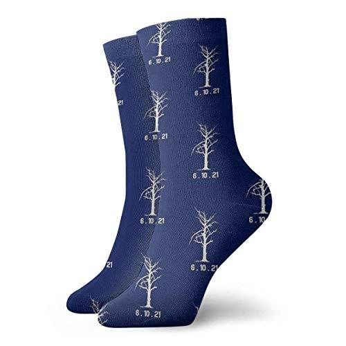 6.10.21 Tree (Blade Runner 2049) Calcetines clásicos de ocio deporte calcetines cortos 30 cm/11.8 pulgadas adecuados para hombres y mujeres