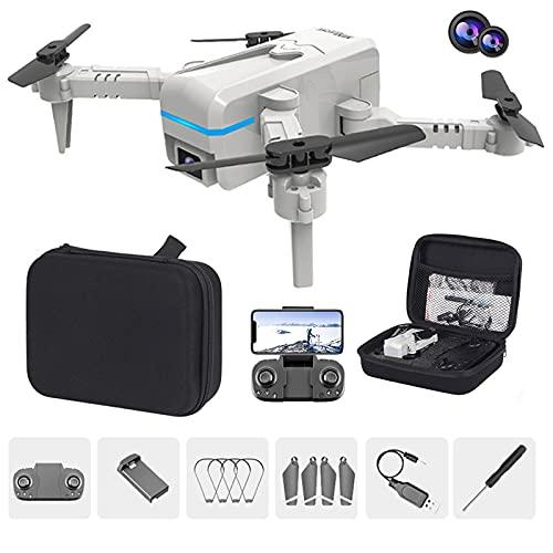 GACYSMD Mini Drone PLOTING Drone 4K Dual-CÁMARA por AUENTA AÉREA AÉRICA AVIONACIONES Larga DESDUTRA DE Control Remoto AVIONACIONES (Color : 4K Dual Lens 3 Power)