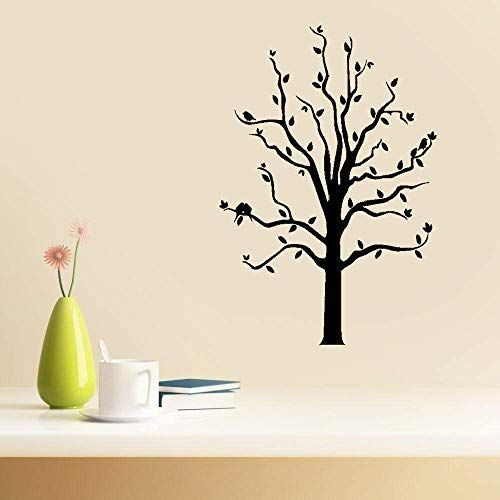 Vivityobert Pájaros románticos en ramas de hojas de árbol