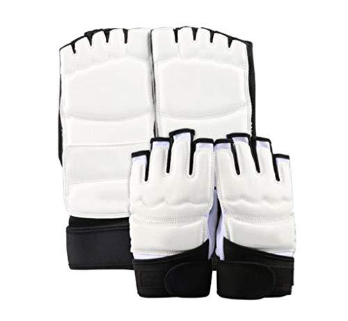 Yx-outdoor Equipo de protección Sanda, para entrenamiento diario y competiciones competitivas protegen las manos y los pies, kit de equipo protector Taekwondo, S
