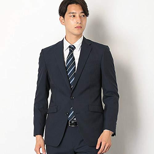 スーツセレクト(メンズ)(SUIT SELECT) 2釦シングルスーツ 0タック/ストライプ/ウォッシャブルパンツ【K...