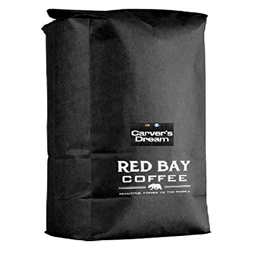 Red Bay Coffee Carver's Dream Whole Bean - Burundi & Guatemala Coffee - Direct Trade Beans - Specialty Coffee Whole Bean - 5 LB Resealable Bag of Specialty Coffee Beans