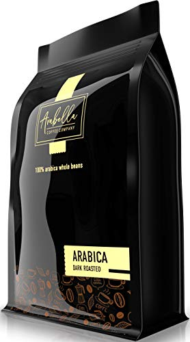Arabella Coffee Co. Dark Roast Coffee Beans - Highest Quality Gourmet - Whole Bean Coffee - Fresh Roasted Coffee Beans, (12oz)