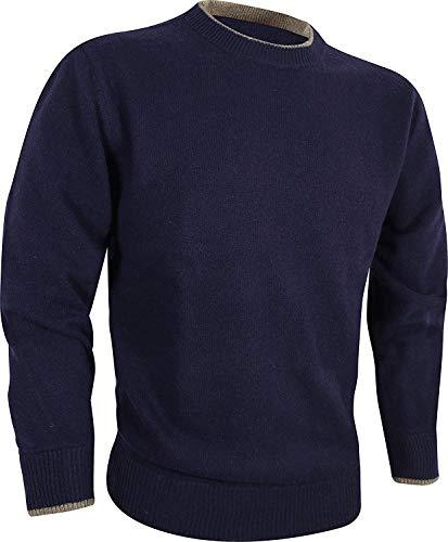 JACK PYKE - Gebreide trui met ronde hals - 100% lamswol